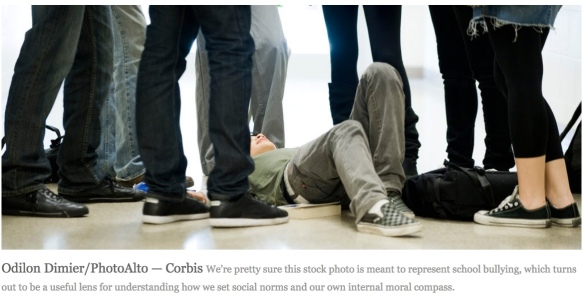 Bullying stock photo